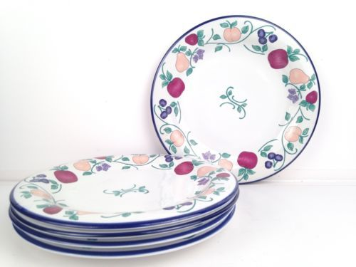 5-PRINCESS-HOUSE-ORCHARD-MEDLEY-10-5-DINNER-  sc 1 st  Pinterest : princess dinnerware - Pezcame.Com