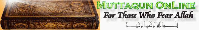 Muttaqun OnLine  Wudu    (Ablution) According to Quran and Sunnah