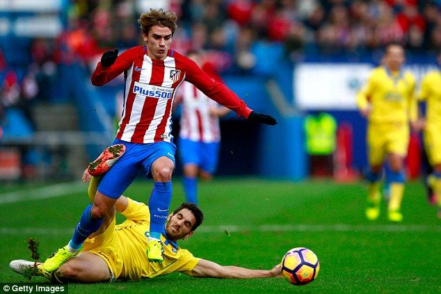 Griezmann has been linked with a move to Old Trafford, which would see him play with Pogba