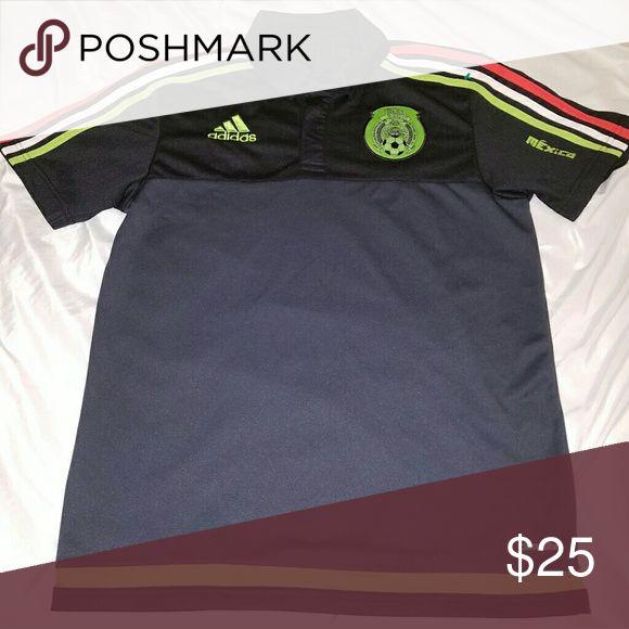 S Adidas Mexico International team soccer jersey. Like new. Small. No holes or rips. Adidas Shirts