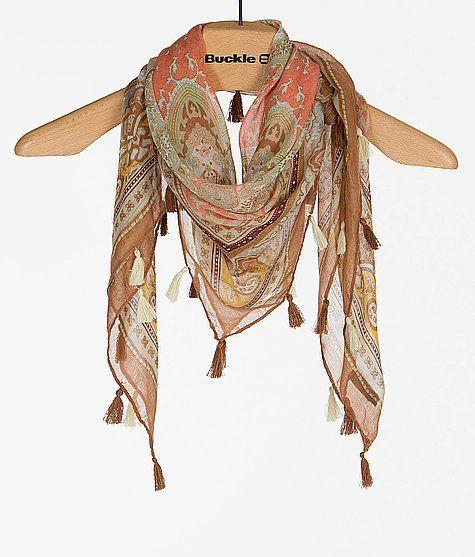 'evelyn K Printed Scarf' #buckle #fashion www.buckle.com
