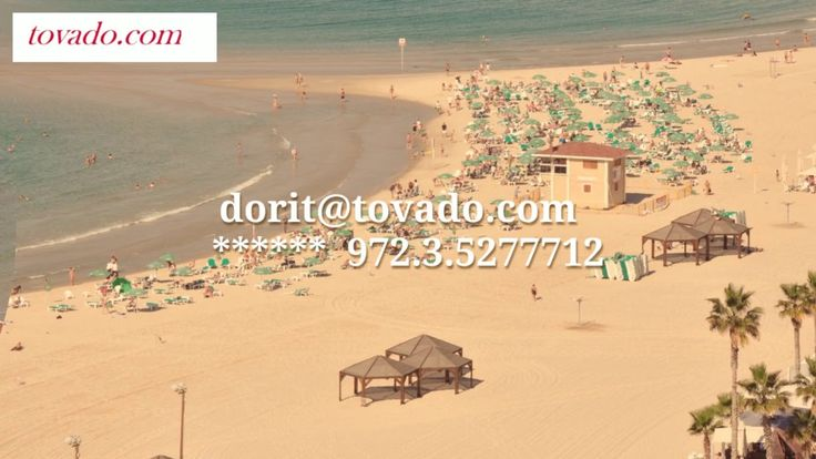 Have you found already your private balcony in Tel Aviv  ? Let's find your next new home in Tel Aviv  Please contact me for a private viewing 972 3 5277712  Or   -  dorit@tovado.com Start searching now: http://www.tovado.com/search_results....