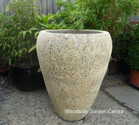 Atlantis Ocean Reclaim Tall Open Jar Pot Planter | Woodside Garden Centre |  Pots To Inspire