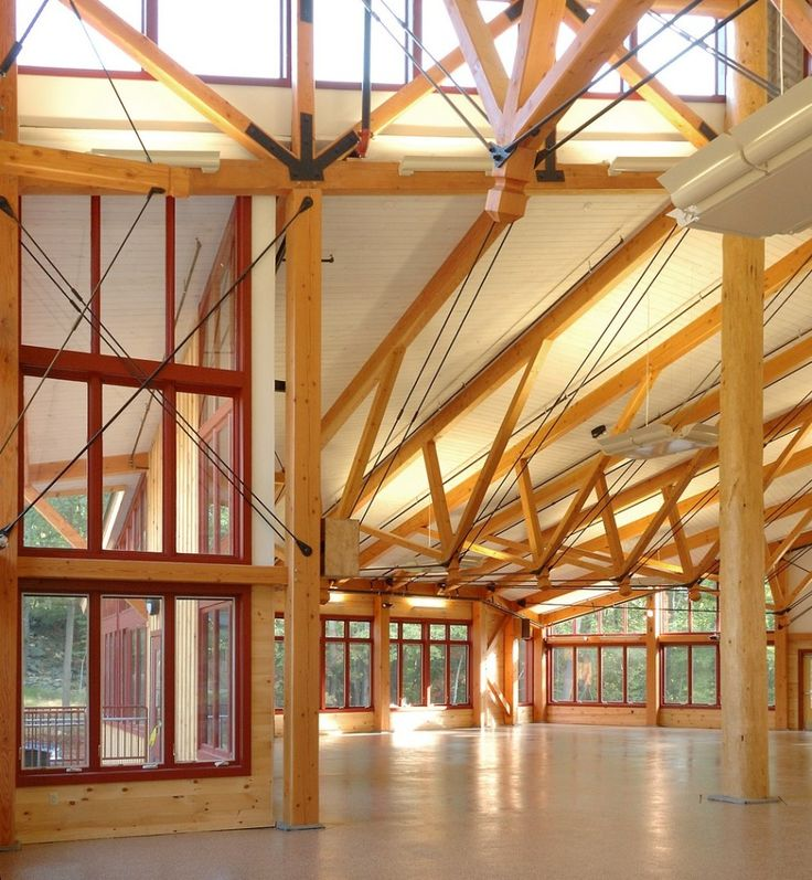 35 best Exposed Wood Structure images on Pinterest | Timber ...