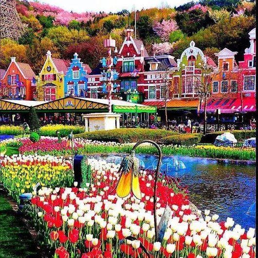 Everland Theme Park Korea