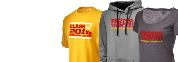 Prep Sportswear has customizable fan gear for Cathedral Catholic High School! Sign up for email and receive 10% OFF your first purchase!