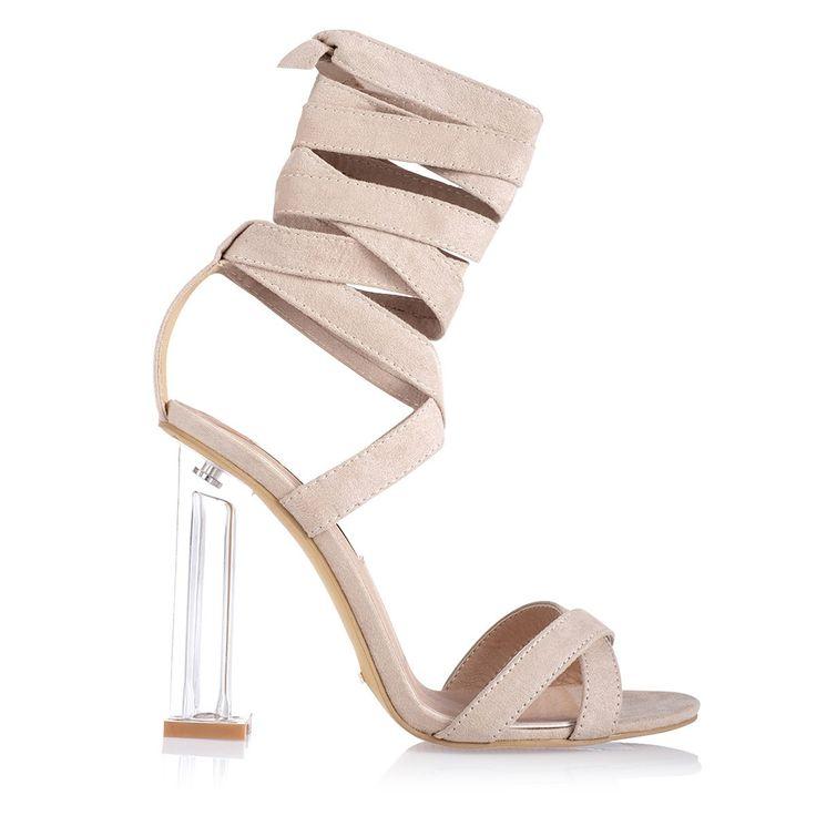 BILLINI - Izora Heels - Skin Suede
