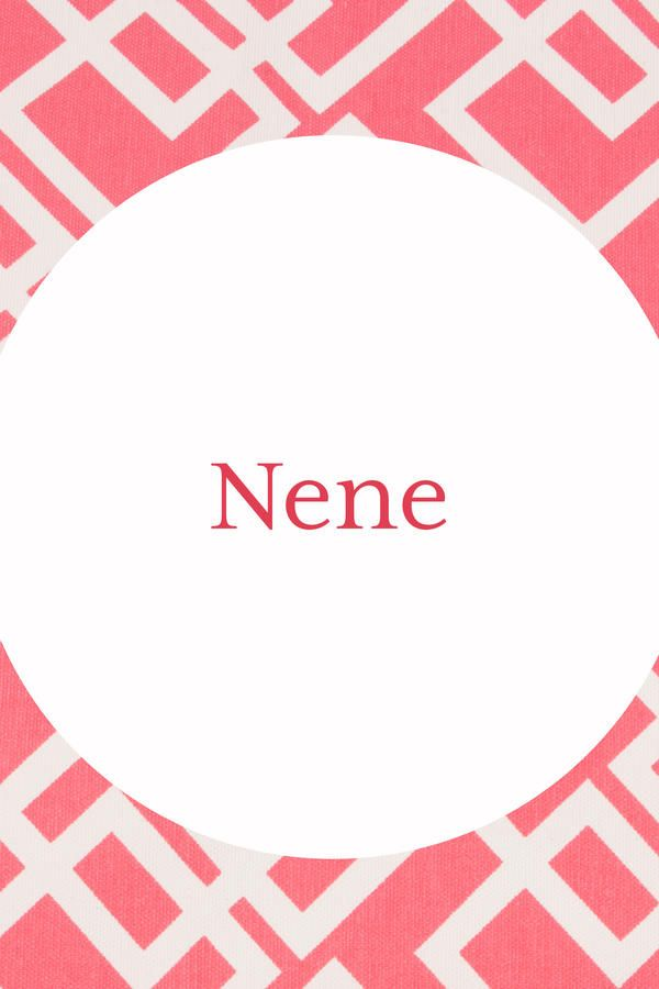 Nene - Our Favorite Southern Grandma Names - Southernliving. null