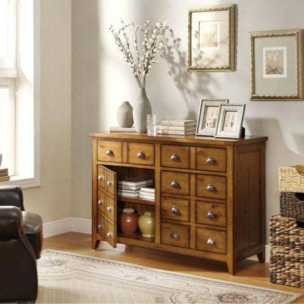 meuble apothicaire, buffet en bois
