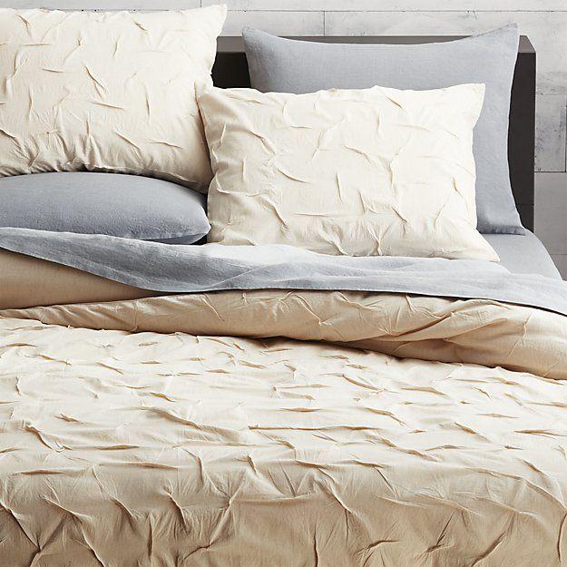 melyssa natural bed linens | CB2