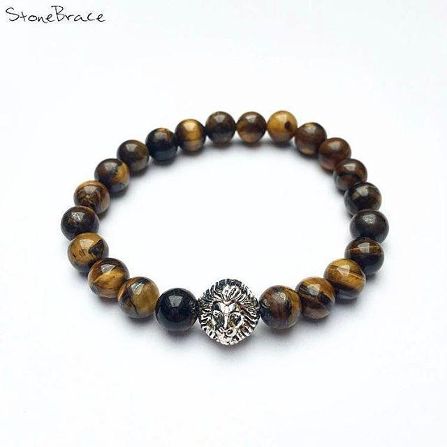 To obtain in the Netherlands #StoneBrace #onlineshop #DM #product #of #egypt #stone #nature #brown #lion #tigereye #order #now #armcandy #fashion #unique #art #instafashion #bracelet Vragen over de prijs of levering. stonebrace.holland@gmail.com of DM