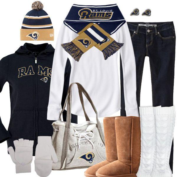 St. Louis Rams Winter Fashion