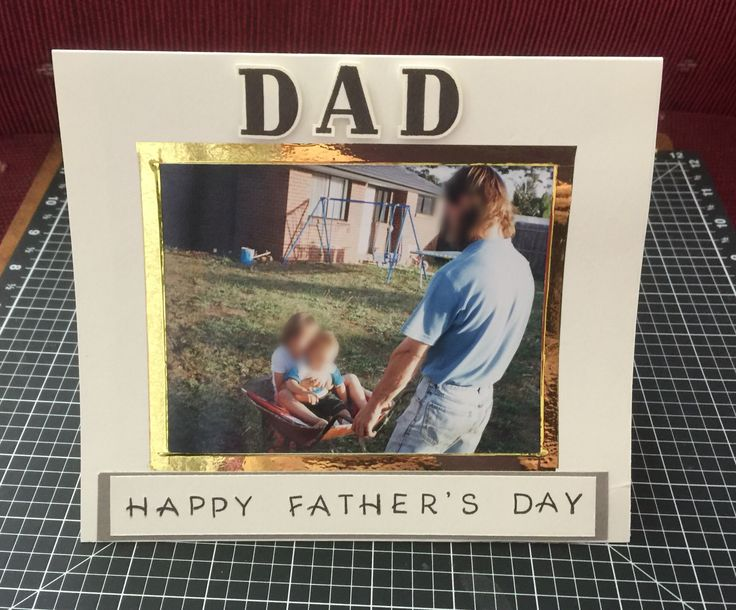 PART 1 Commissioned Fathers Day Card