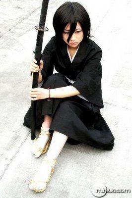 Rukia Kuchiki perfeito esse Cosplay