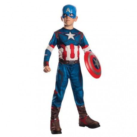 Disfraz del Capitan America, uno de los protagonistas de Los Vengadores. Este disfraz del Capitan America es un regalo perfecto para los niños que son fan de los Vengadores.  http://www.disfracessimon.com/disfraces-superheroe-infantil/3972-disfraz-de-capitan-america-para-nino.html