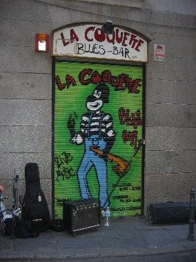 La Coquette Blues Bar- Madrid, Spain
