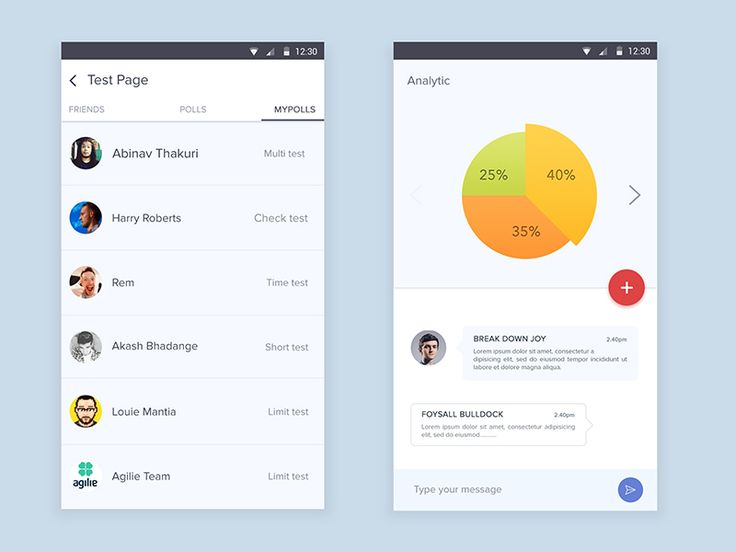 Android Analytic Apps