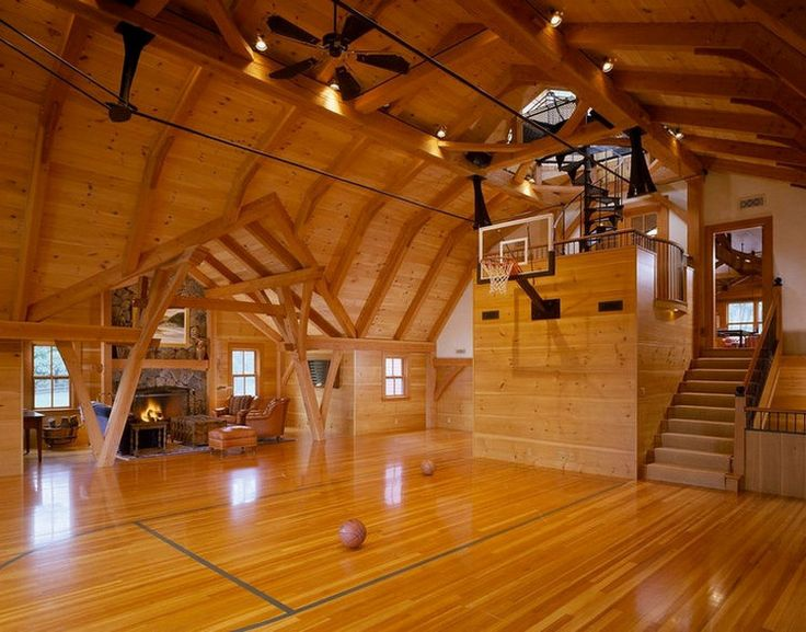 Check Out These Dream Home Sports Courts (24 Photos)