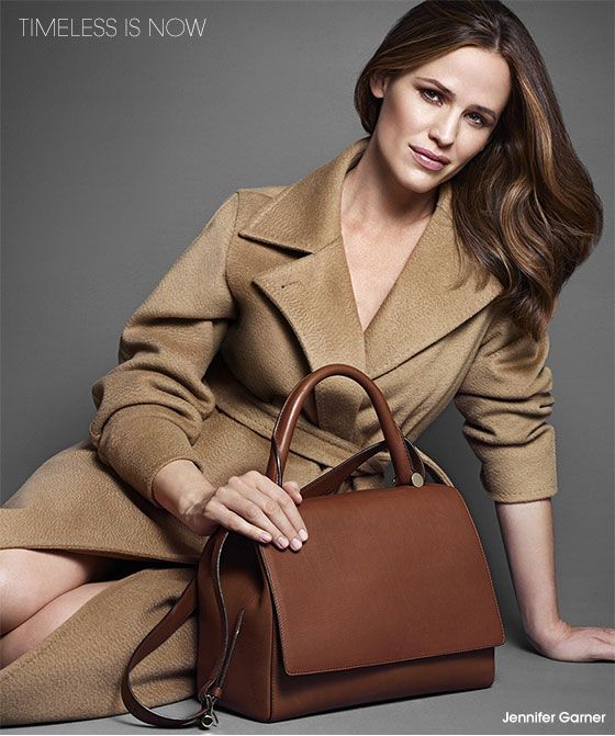 Max Mara Jennifer Garner The Coat The Bag The Hair