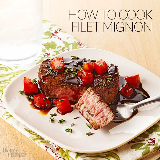 Get steakhouse results at home with our tips for purchasing filet mignon and grilling, sautéing or broiling the perfect filet mignon.