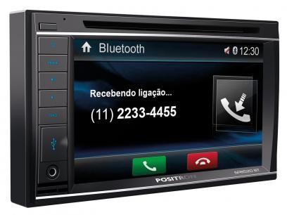 """DVD Player Automotivo Pósitron SP8520BT - Tela 6,2"""" Touch Screen USB Bluetooth Double Din com as melhores condições você encontra no Magazine Vitoriasilvajr. Confira!"""