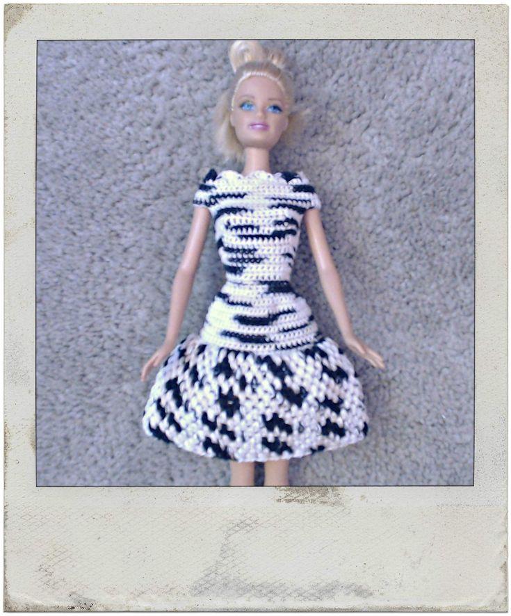 Crochet - Barbie's Bean Stitch Dress