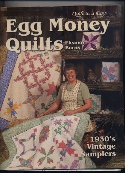 94 best QUILTING WITH ELEANOR BURNS images on Pinterest ... : egg money quilts by eleanor burns - Adamdwight.com