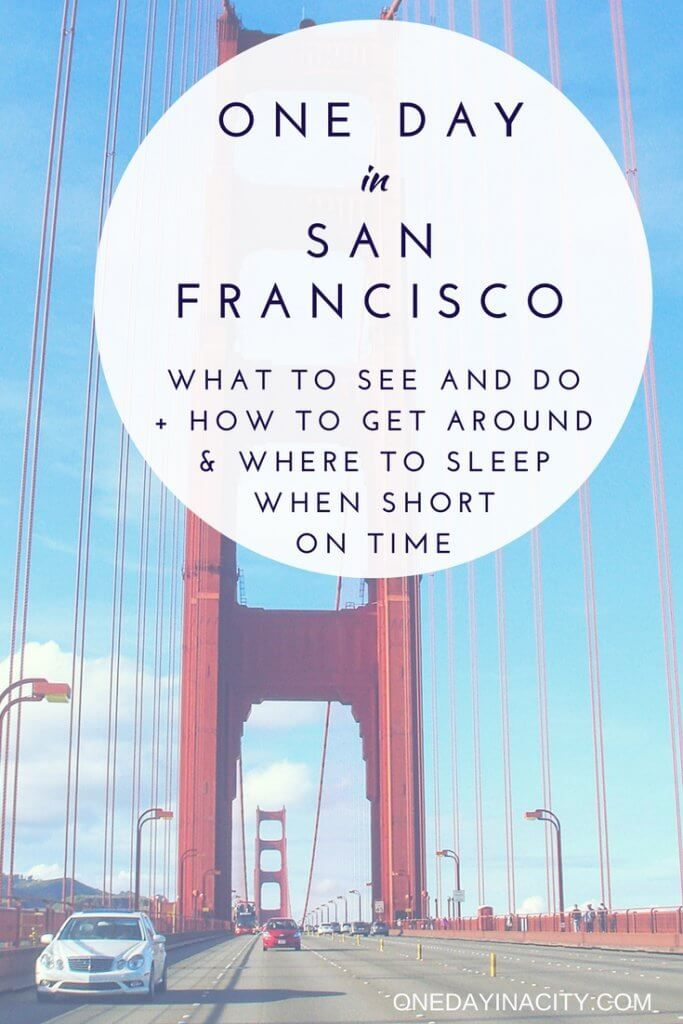 Ready to maximize your time in San Francisco, California? This detailed travel guide will share with you the top things to do that you can't miss if you have just one day in San Francisco. It will also give you tips on what to do with more time and where to eat and sleep.