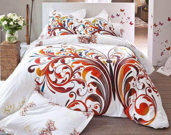 J'ai craqué, ce magnifique papillon folâtrera bientôt sur mon lit ... #becquet