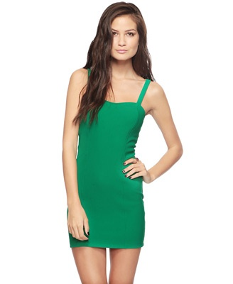 I love the color: Things Fashion, Bodcon Dresses, Clothing Addiction, 21Basic Dresses, 21 Green, Colors, Forever 21 Basic, 21 Basic Dresses, I'M
