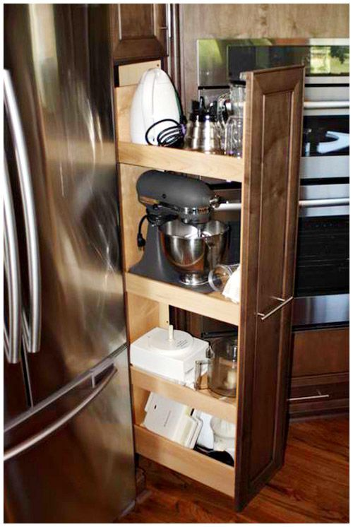 1000 Ideas About Kitchen Appliance Storage On Pinterest