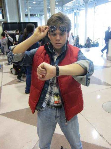 Photo: Back to the Future Marty McFly Costume