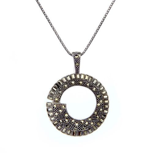 Circles Pendant from Daniels Silver & Marcasite Ltd. Buy from the online gift shop at English Heritage.