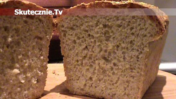 Fenomenalnie prosty chleb domowy, chrupiąca skórka