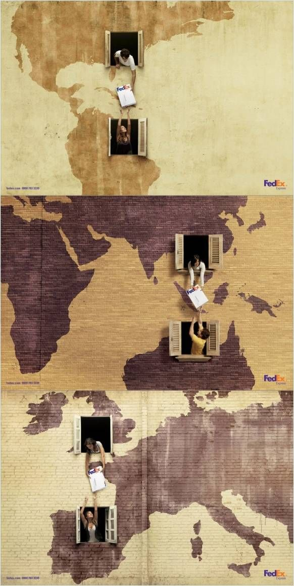 FedEx the fastest international delivery company