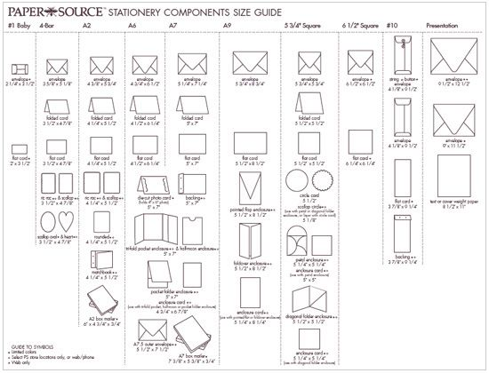7 best Envelope images on Pinterest Envelopes Envelope size chart