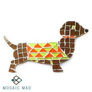 Mosaic Project- SAUSAGE DOG  R49.00