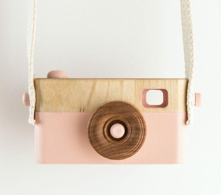 Wooden Toy Camera #baby #nursery