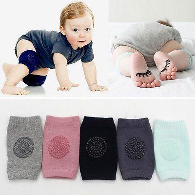 New Baby Kids Seguridad Crawling Codo Rodilleras Protector Cushion Bebés niños