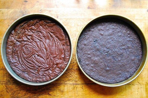 How to make brownies with shiny crust via @kingarthurflour