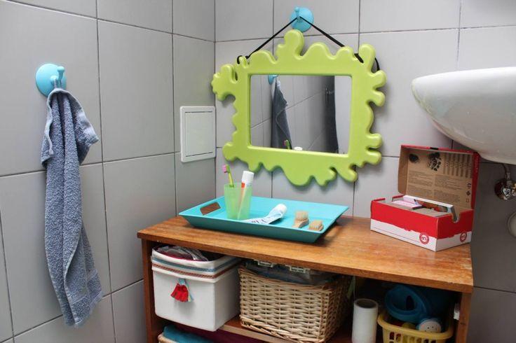 Koupelna, učení na nočník