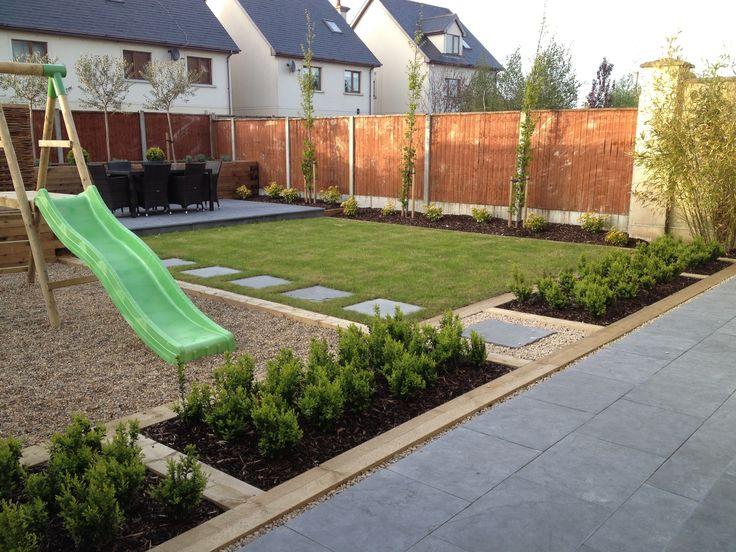 Family garden design and landscaping