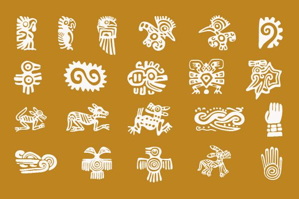 Mexican relics dingbats | Art and design inspiration from around the world - CreativeRoots
