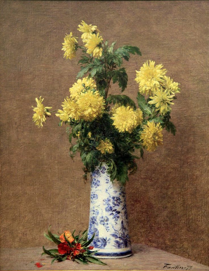 fantin latour | Flower paintings of Henri Fantin-Latour: