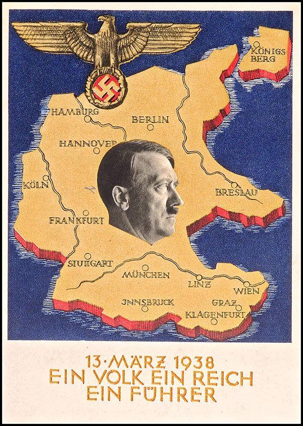 Oesterreich Maerz 1938 Deutsches Reich