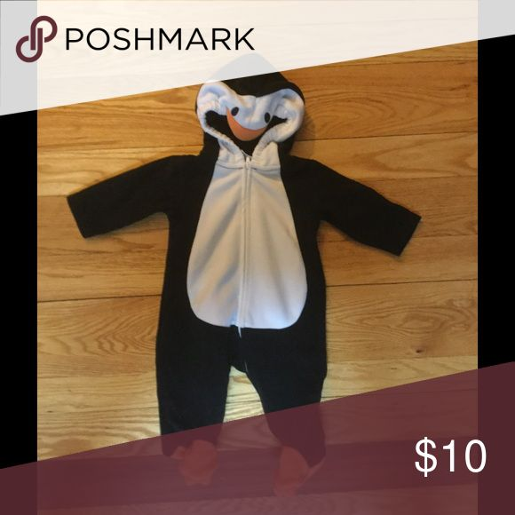 baby penguin costume 6 months size - Infant Penguin Halloween Costume