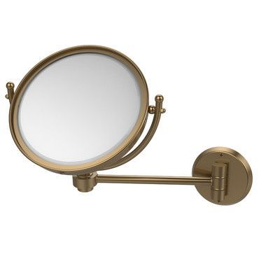 Allied Brass Universal Extendable Mirror Magnification: 5x, Finish: Brushed Bronze