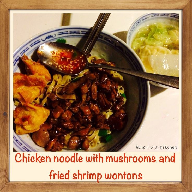 Chicken Noodles Indo's Style