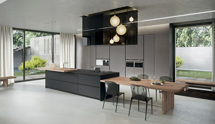 There is so much to love about the AK_04 kitchen by Italian manufacturer, Arrital. First there is the harmonic balance between man made materials with clear finished wood veneers,...