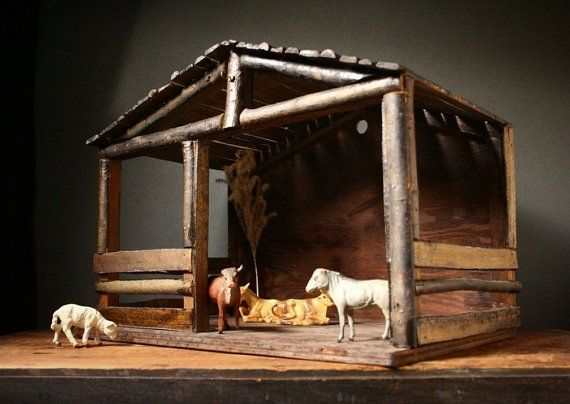 Best 25 Nativity Stable Ideas On Pinterest Nativity Nativity Scene Sets And Nativity Scene